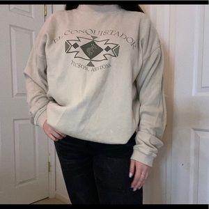 Vintage El Conquistador pullover Tucson Arizona XL